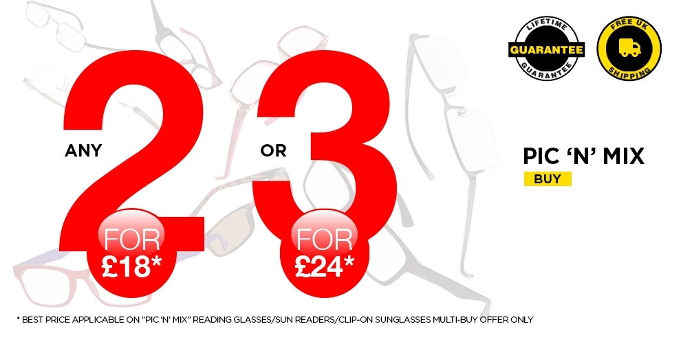 Buy 2 Pairs for £18 or 3 for £24