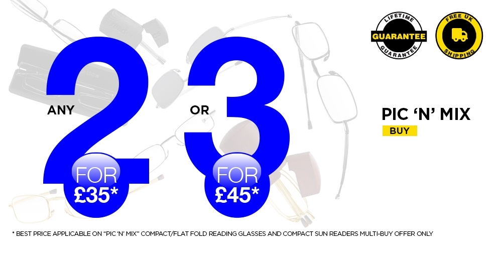 Buy 2 Pairs for £35 or 3 for £35