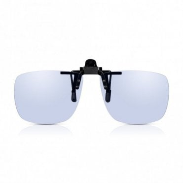 Clip On Blue Light Blocking Computer Glasses + TAC Anti-Glare + UV-400 Filter