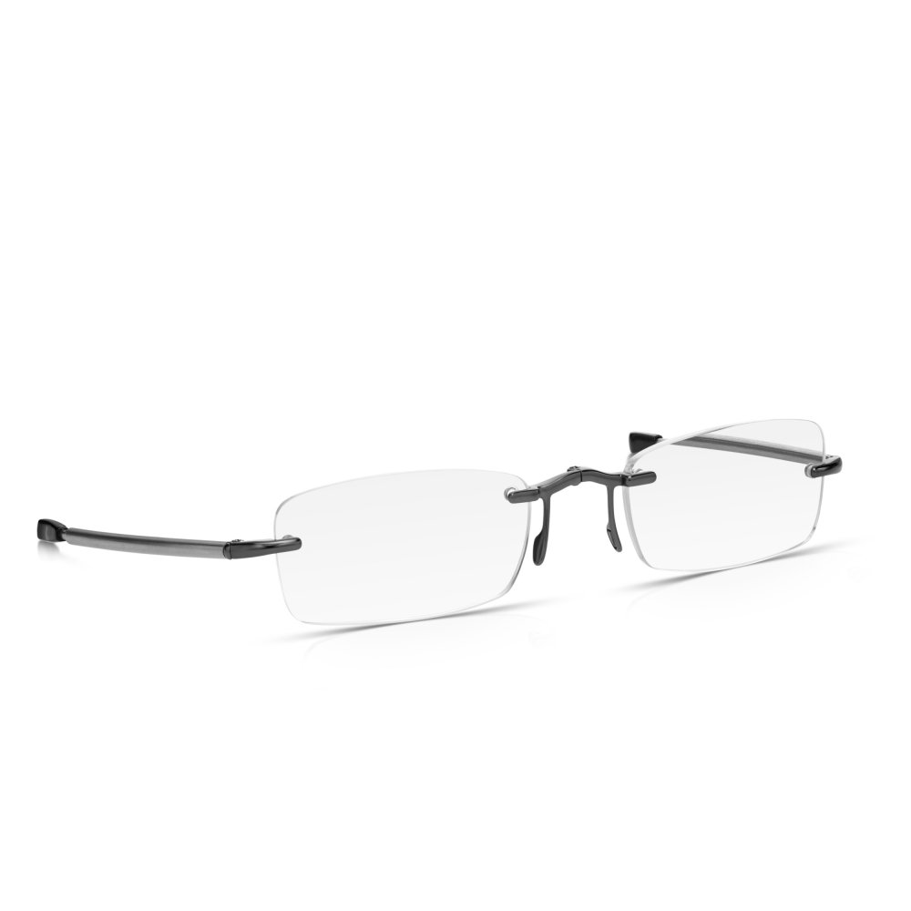 60d49b6e1b Buy Read Optics Mens and Womens Gunmetal and Silver Folding Compact ...
