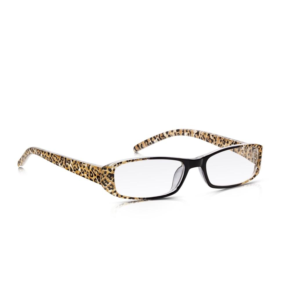 c6e1b6f7aa Read Optics Ladies Leopard Print Reading Glasses  Lightweight   Durable  with Optical Lenses