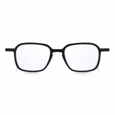 Read Optics Lightweight Thin Framed Square Blue Light Filter UV Readers in Flat Case