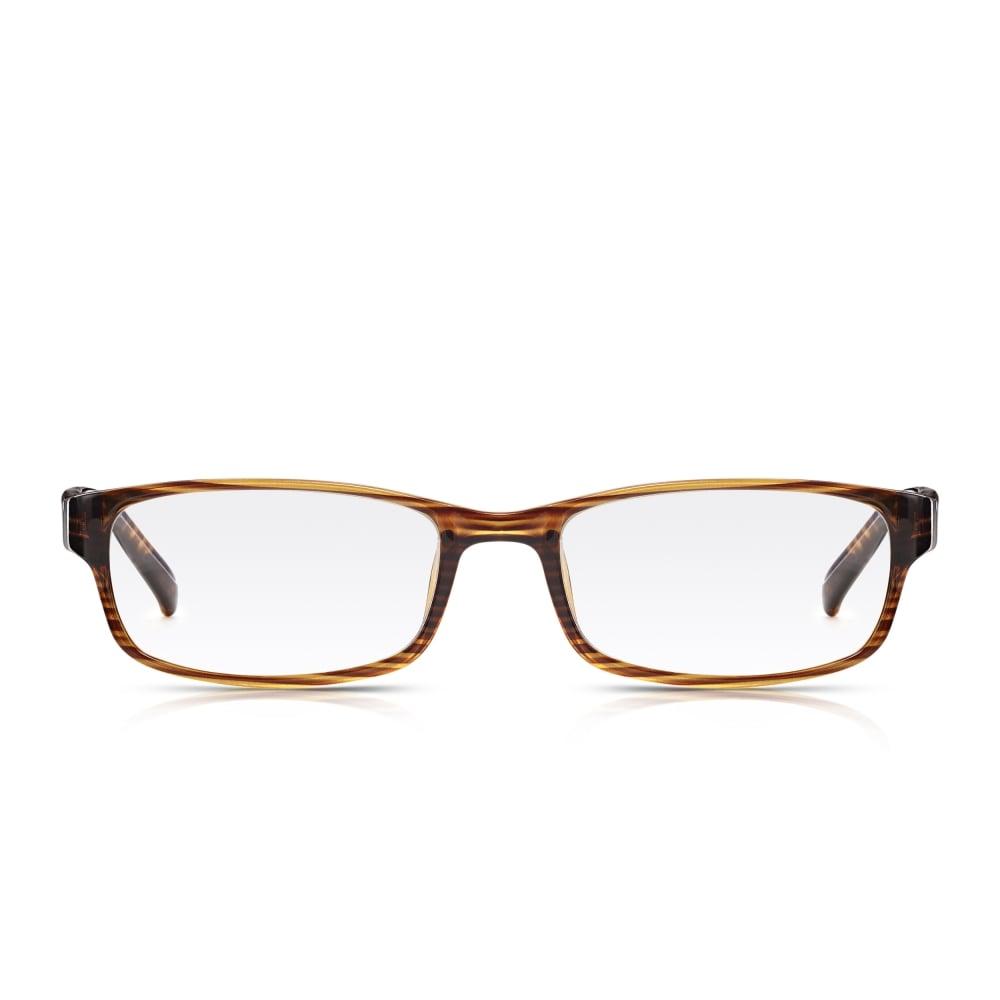 Wood Grain Glasses Frame : Buy Read Optics Mens and Womens Brown Wood Grain Full ...