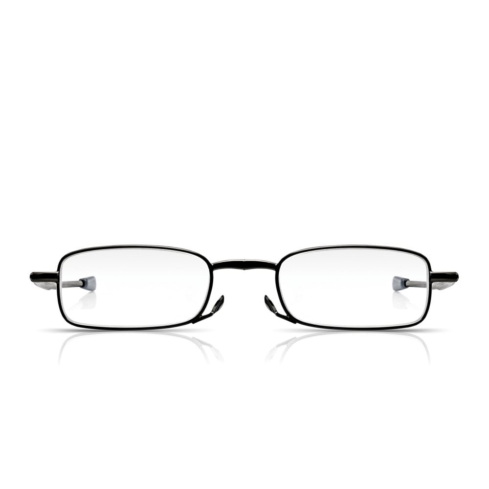 ff2312262ed5 Read Optics Mens   Ladies Folding Reading Glasses in Black  Fold-Out Specs  in Travel Case