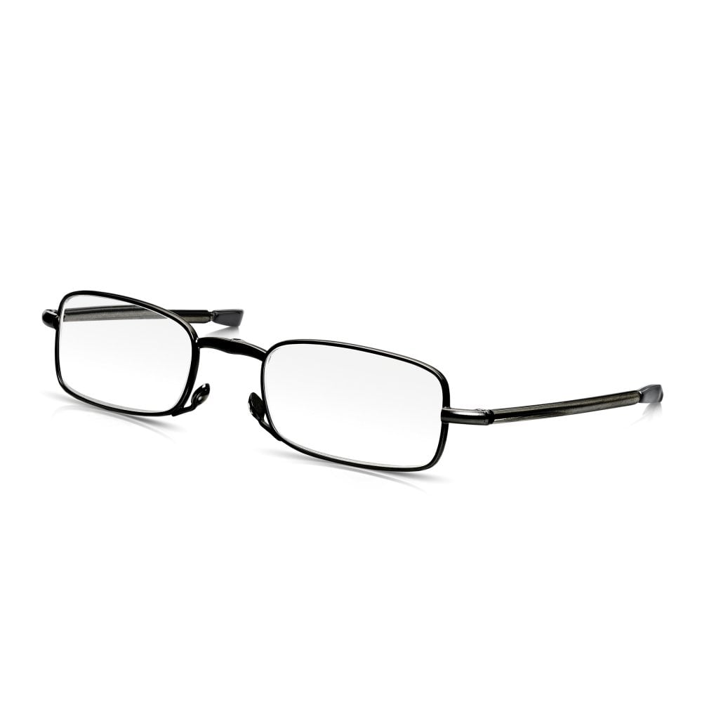 05929cd5886 Read Optics Mens   Ladies Folding Reading Glasses in Black  Fold-Out Specs  in Travel Case