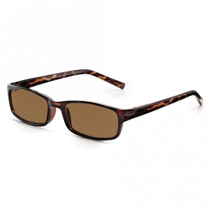 Read Optics Mens/Ladies Tinted Reading Sunglasses: Non-Prescription UV Block Sunny Readers