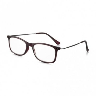 Ready Readers for Men / Women: Ultra Lightweight Polycarbonate & Slim Metal Arms