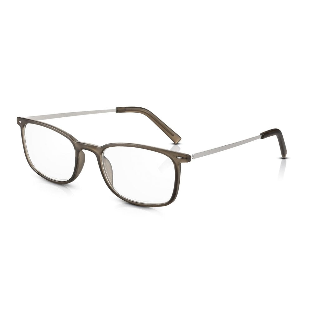 37226301e6 Read Optics Vintage Style Glasses for Men   Women  Ultra Lightweight Grey  PC + Alloy Arms
