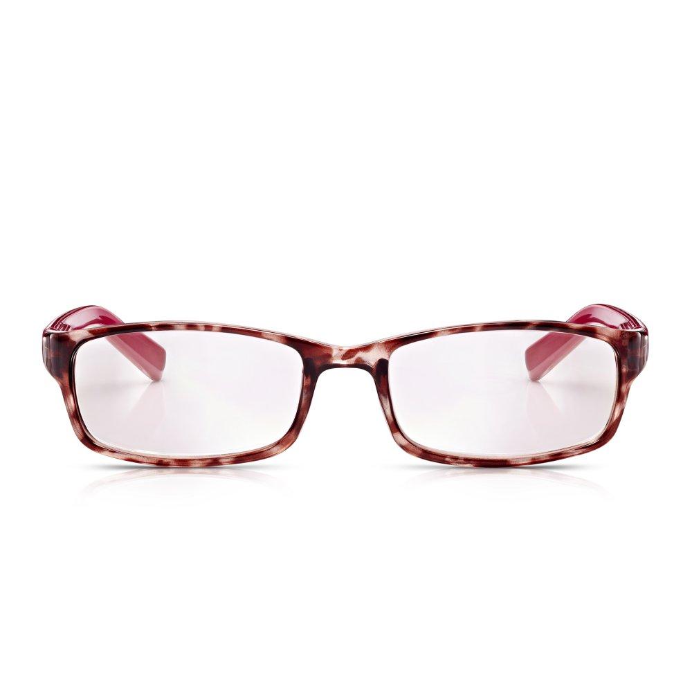 b1f4631e969 Read Optics Womens Stylish Glasses  Non-Prescription Reading Spectacles in  Pink   Raspberry